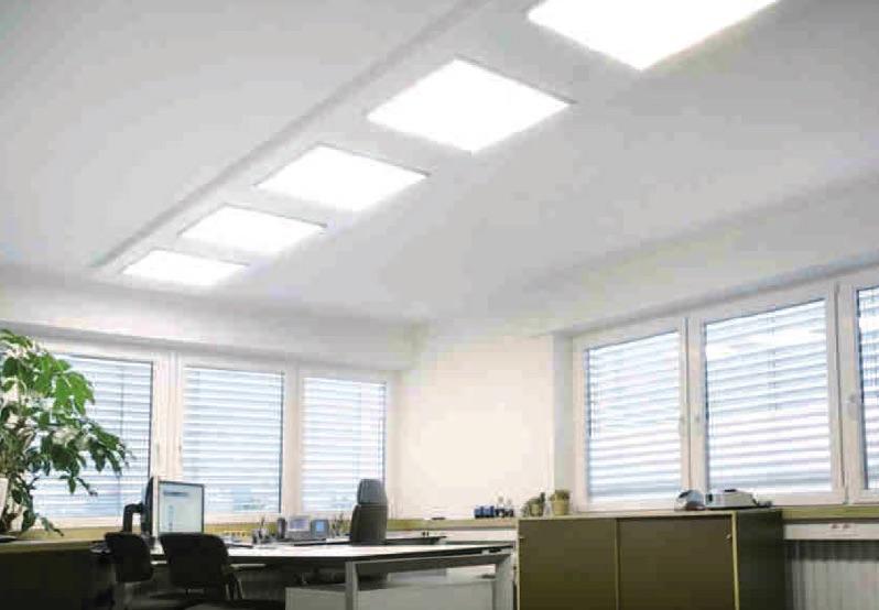 Electra pannello led ad alta efficienza gio lux for Led alta efficienza